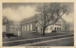 SHERMAN, Texas, 1910s-30s ; Municipal Building