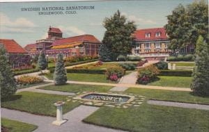 Colorado Englewood Swedish National Sanatorium Curteich