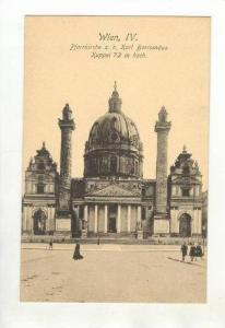 Pfarrkirche z.h. Karl Borromaus, Kuppel 72m Hoch, Wien, IV, Austria, 1900-1910s
