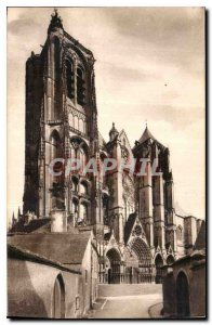 Old Postcard Bourges La Cathedrale