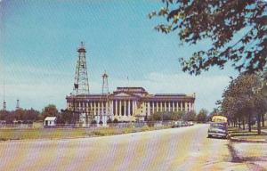 Exterior, State Capitol Building of Oklahoma,  40-60s