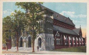YORK, Pennsylvania, 1910-1930s; St. Patrick's Church