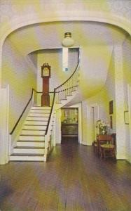 Indiana Vincennes Hall & Stairway Grouseland Home Of William Henry Harrison