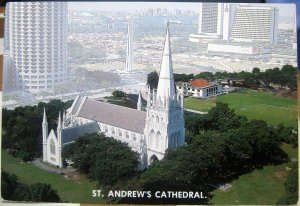 Singapore St Andrew's Cathedral - posted 1985