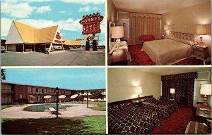 Horne's Motor Lodges Jacksonville Postcard North Carolina -1950's MrSTUFF A2/59