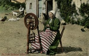 ireland, Irish Spinning Wheel, Costumes (1910s) I