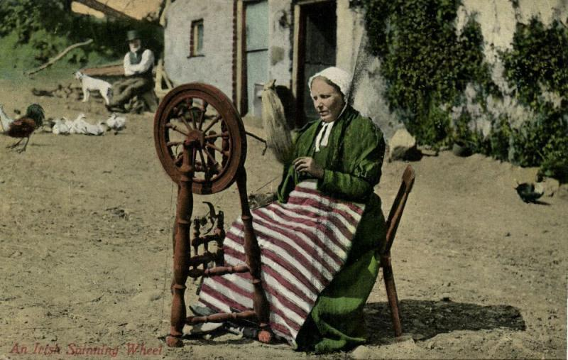 ireland, Irish Spinning Wheel, Costumes (1910s) I