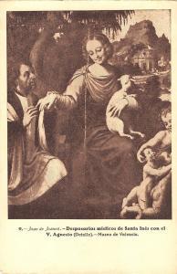 BR70759 santa ines v agnesio juan de  joanes painting valencia postcard  spain