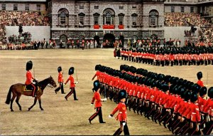 England London Whitehall Trooping The Colour