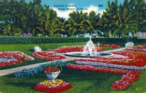[ Linen ] US Florida Miami - Sunken Gardens