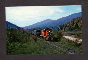 VT Vermont Railroad Train Engine 401 Railway N. Dorset Vermont Postcard