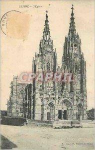 Old Postcard The Thorn Church