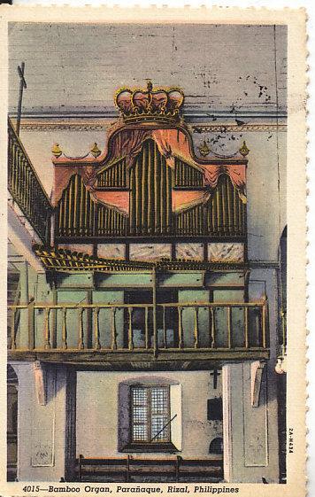 Bamboo Organ, Paranaque, Rizal, Phillipines