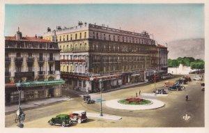 Place de la Republique Valence French Early Colour Glossy Postcard