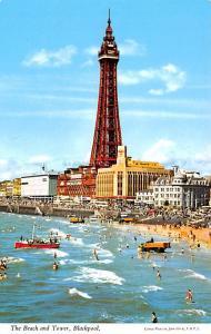 Blackpool Ireland Beach and Tower Blackpool Beach and Tower