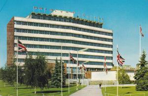 Exterior,  Edmonton's impressive City Hall,  Edmonton,  Alberta,  Canada,  40...