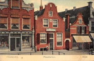 Franeker Netherlands Planetarium Postcard Shop Antique Postcard J75156