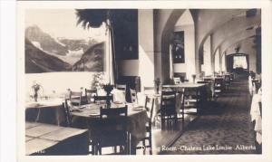Canada Chateau Lake Louise Dining Room Real Photo