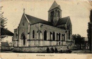 CPA AK CRÉZANCY L'Église (666415)