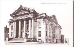 KY Shelbyville Shelby County Court House Real Photo