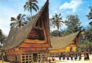 North Sumatra Indonesia, Republik Indonesia Tomok Village, Batak Traditional ...