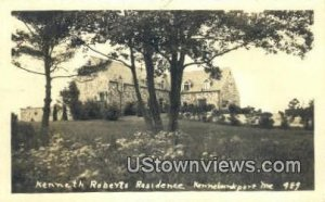 Real Photo - Kenneth Roberts Residence in Kennebunkport, Maine