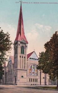 California Stockton Central Methodist Episcopal Church