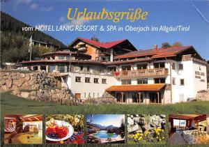 Urlaubsgruesse vom Hotel Lanig Resort Spa in Oberjoch im Allgaeu Tirol Oberjoch
