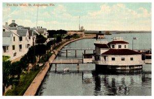 Florida  St.Augustine  , Sea Wall