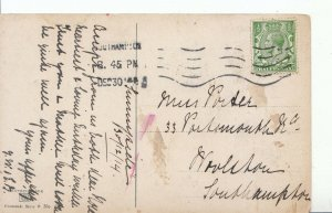 Family History Postcard - Porter - Woolston - Southampton  - Ref 1143A