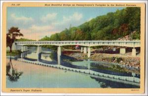 PA - Pennsylvania Turnpike, Bedford Narrows