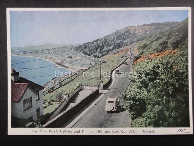 Ireland DUBLIN VICO ROAD, DALKEY & KILLINEY HILL c1950's by BAILEY, SON & GIBSON