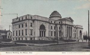 Historical Building, DES MOINES, Iowa, PU-1909