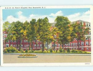 Linen HOSPITAL SCENE New Brunswick New Jersey NJ W3101