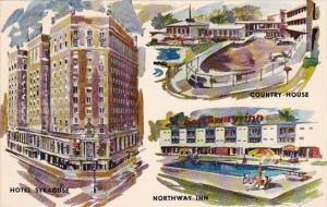 Three Finest In New York State Hotel Syracuse Motor Inn With Pool Rochester N...