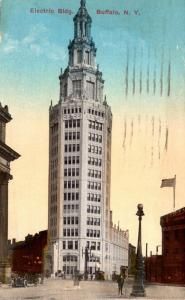 New York Buffalo Electric Building 1916