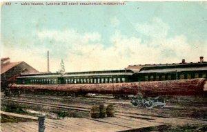 Bellingham, Washington - Long Timber (length 125 feet) - in 1908