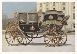 Galawagen Der Kaiserin Elisabeth Wien Empress Elizabeth Coach Postcard