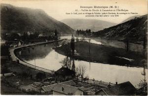 CPA BESANCON Historique (M.D.) - Vallée de DOUBS a Casaméne et l'Ile... (182826)