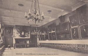 Interior, Gilde D'Archers St. Sebastien, Salle De Seance, BRUGES (West Flande...