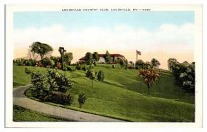 Mid-1900s Louisville Country Club, Louisville, KY Postcard