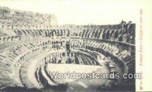 Anfiteatro Flavio e Colosseo coi nuovi scavi Roma, Italy Unused