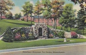 Massachusetts Fort Devens Sweetheart Monument