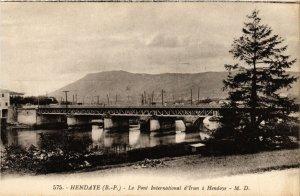 CPA HENDAYE - Le Pont International d'Irun (365128)