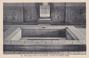 India Delhi The King's Bath In The Palace