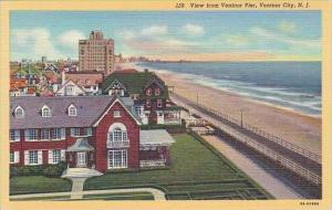 New Jersey Ventnor City  View From Ventnor Pier