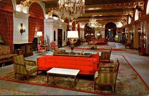 Washsington D C Sheraton-Carlton Hotel Lobby Sixteenth Street N W