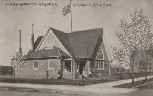 DOUGLAS, Arizona, 1900-1910's; Baptist Church