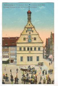Rothenburg o. T. Ehemal. Rats- Trinkstube (jetz Post), Bavaria, Germany, 00-10s