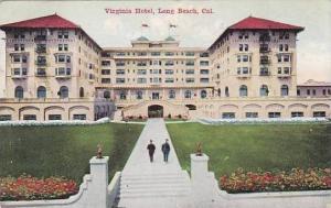California Long Beach Virginia Hotel 1912